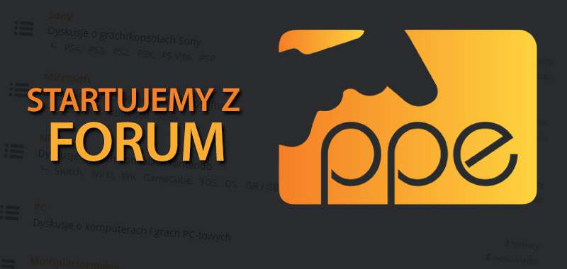 Rusza forum PPE.pl!