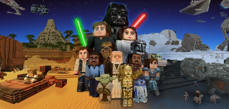 Minecraft x Star Wars