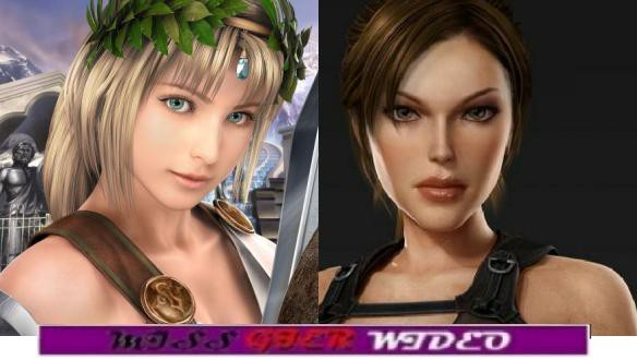 Miss Gier Wideo: Lara Croft vs Sophitia