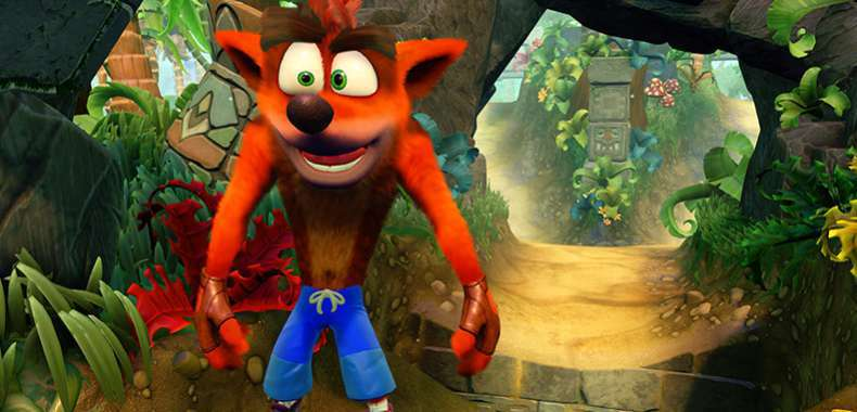 Crash z Crash Bandicoot N-Sane Trilogy