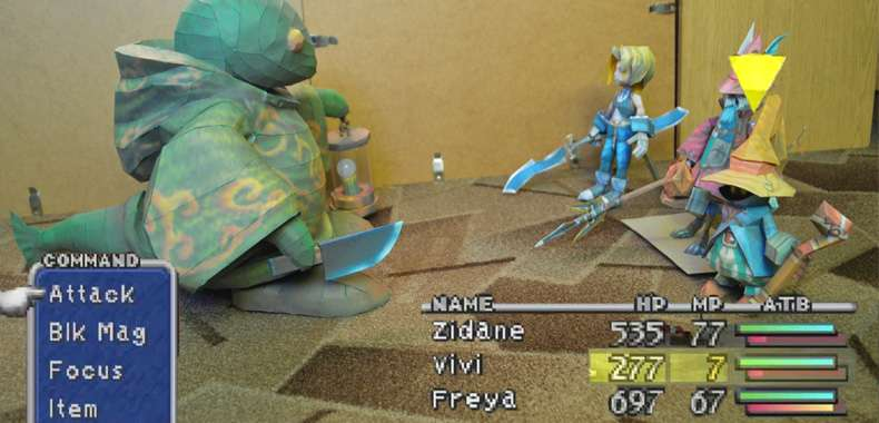 Papercraft #21 – Final Fantasy IX – Freya
