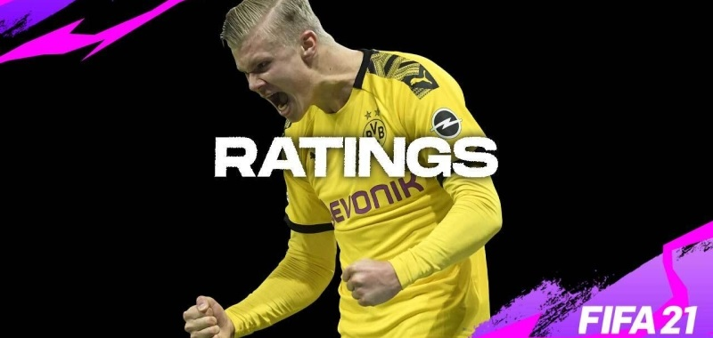 FIFA 21 ratings