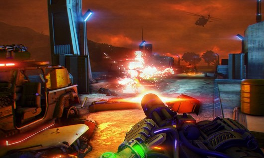 Futurystyczne DLC do Far Cry 3 - screeny