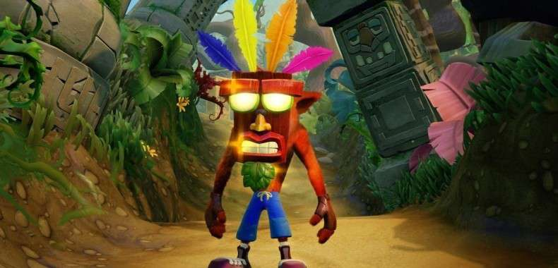 Crash Bandicoot N-Sane Trilogy na PlayStation 4