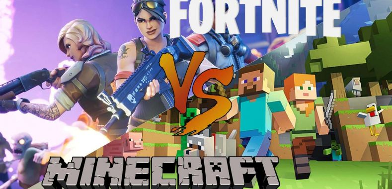 Minecraft nadal lepszy od Fortnite'a