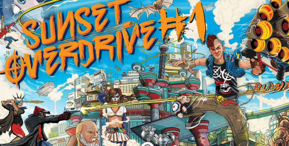 Sunset Overdrive trafi na PC-ty