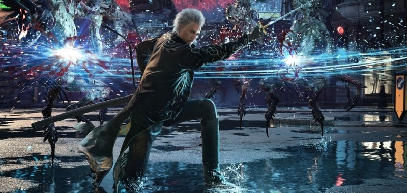Devil May Cry 5 Special Edition na next-genowej rozgrywce. Gameplay pokazuje wersję z PS5 i Xboksa Series X|S
