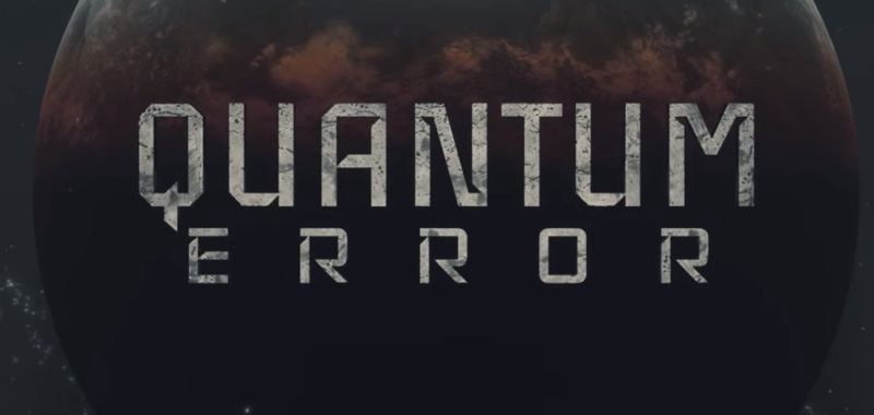 Quantum Error PS5 logo