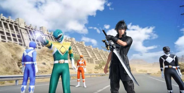 Kultowa ekipa Power Rangers w modzie do Final Fantasy XV