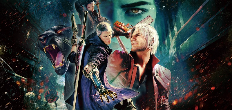 Devil May Cry 5: Special Edition box art