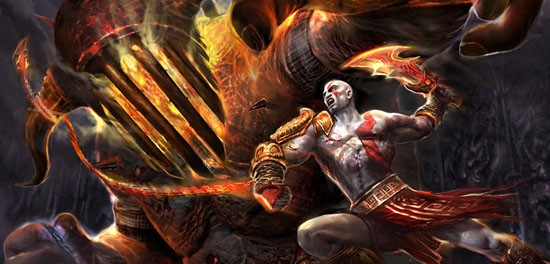 Michał Żebrowski w God Of War III