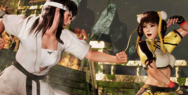 Dead or Alive 6. Hitomi i Leifang na zwiastunie