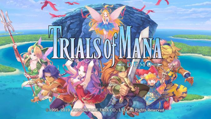 Na relaksie #2: Demo Trials of Mana