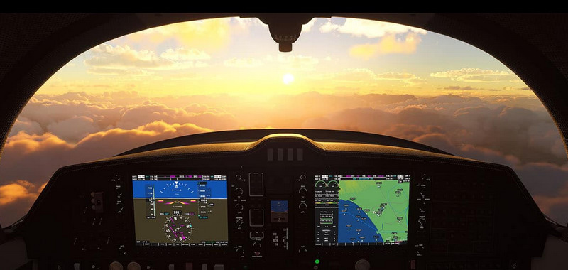 Flight Simulator grafika