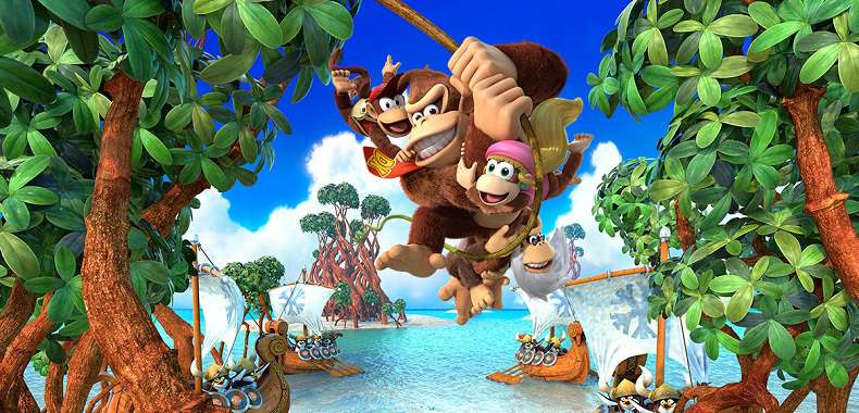 Donkey Kong Country: Tropical Freeze. Pojedynek Switch vs. WiiU