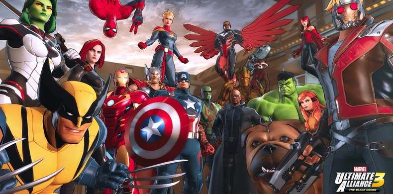 Marvel Ultimate Alliance 3: The Black Order na materiale z rozgrywki