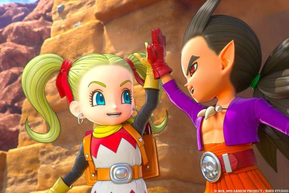 Dragon Quest Builders 2 framerate