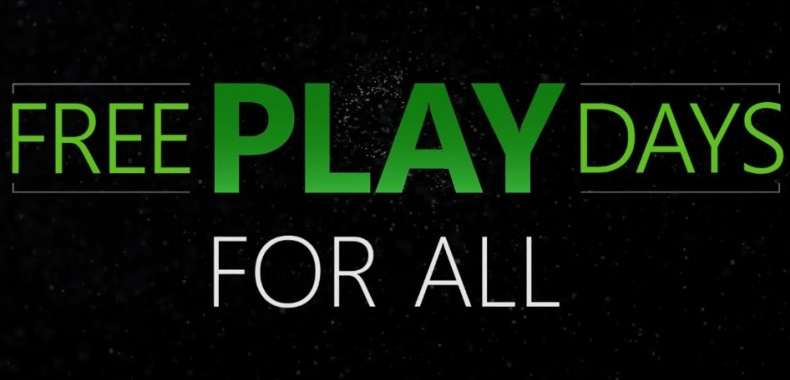 Free Play Days For All Xbox Live