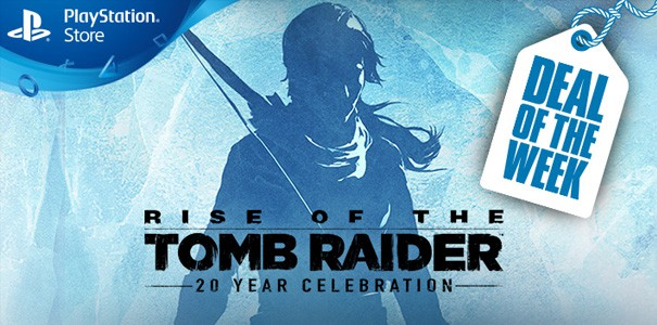 Rise of the Tomb Raider taniej w PS Store