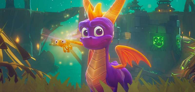 Spyro Reignited Trilogy na Switcha w niemieckim Gamestopie