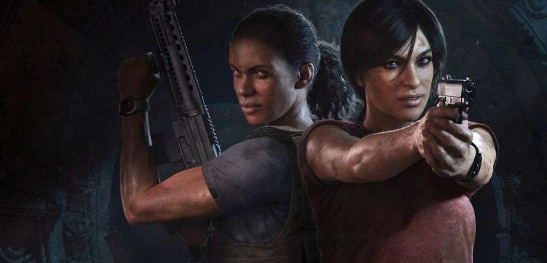 Bohaterki z Uncharted: The Lost Legacy