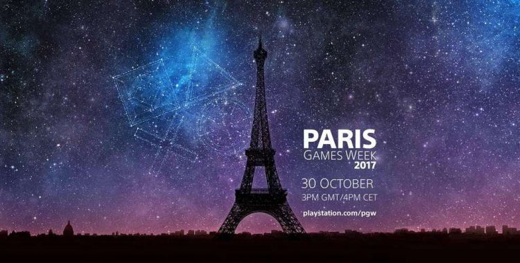 Sony zaprasza na Paris Games Week 2017