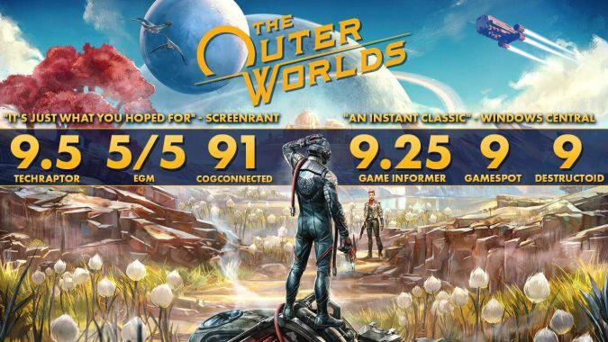 Czy The Outer Worlds to gra roku?