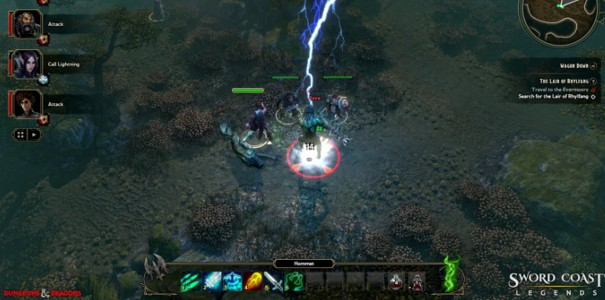 Sword Coast Legends oparte na systemie Dungeons & Dragons trafi na konsole