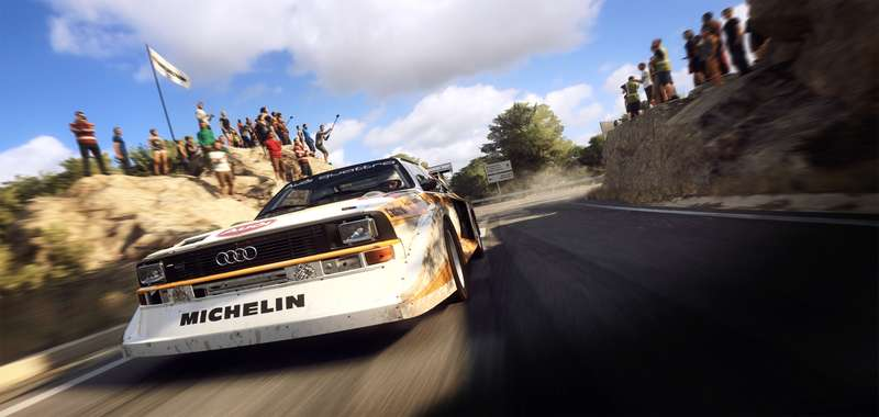 Dirt Rally 2.0 na ORVR