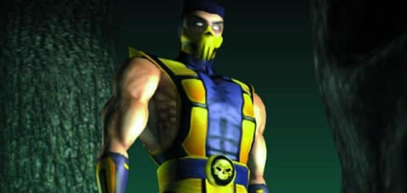 Scorpion Mortal Kombat 4