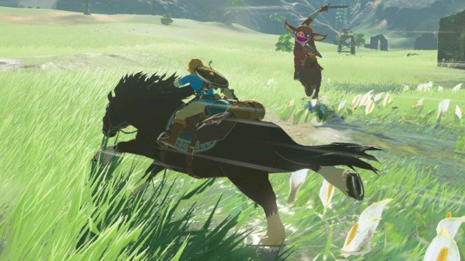 The Legend of Zelda: Breath of the Wild. Grafika na Wii U prawie identyczna jak na Switch