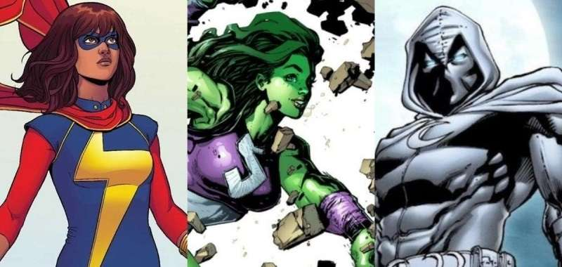 She-Hulk, Ms. Marvel i Moon Knight