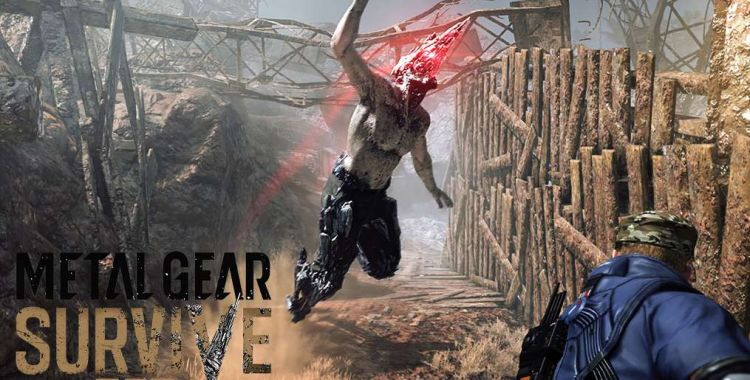 Metal Gear Survive. PS4 Pro vs Xbox One X