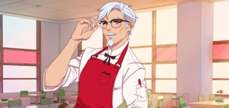 KFC symulator randek I Love You, Colonel Sanders! A Finger Lickin' Good Dating Simulator