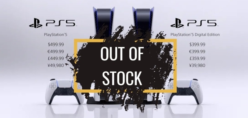 PS5 Out of Stock