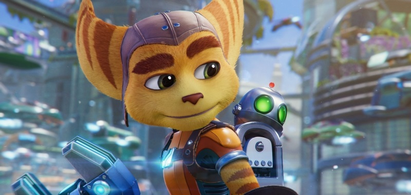 Bohaterowie Ratchet & Clank Rift Apart