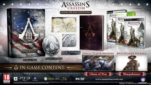 "Okiem PPE - Assassin's Creed III ""Join or Die"""