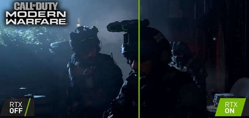 Call of Duty RTX ON vs OFF