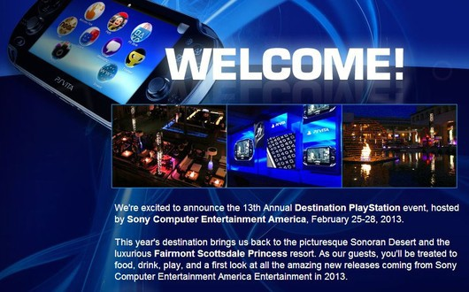 Destination PlayStation 2013 z pokazem PS4?