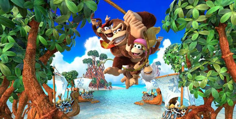 Donkey Kong Country: Tropical Freeze - Switch vs WiiU