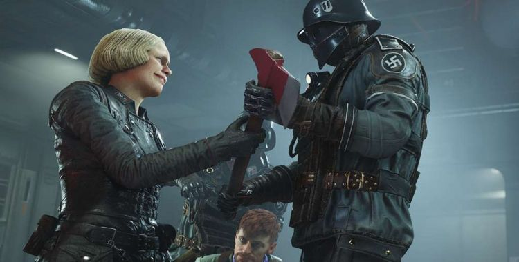 Wolfenstein 2: The New Colossus w 1440p na PS4 Pro