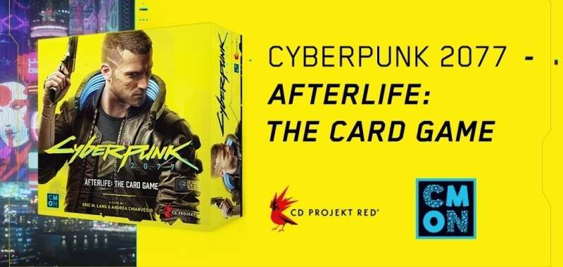 Cyberpunk 2077 Afterflife The Card Game
