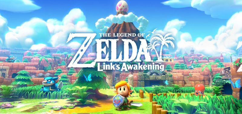 The Legend of Zelda: Link's Awakening Remake (Switch) - wake up Link, we have an island to burn
