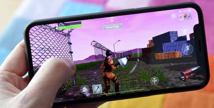 Fortnite Battle Royale: iPhone X kontra Xbox One X
