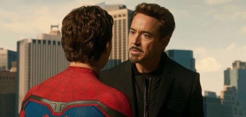 Robert Downey Jr. x Spider-Man: Homecoming