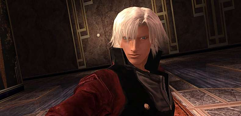 Devil May Cry HD Collection. Dante na screenach 1080p