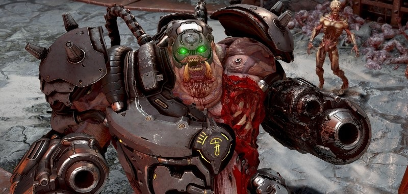 DOOM Eternal na Master Level to dynamiczna sieka. Gameplay w 4K i 60 fps