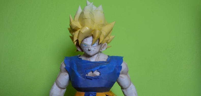 Papercraft #10 - Dragon Ball