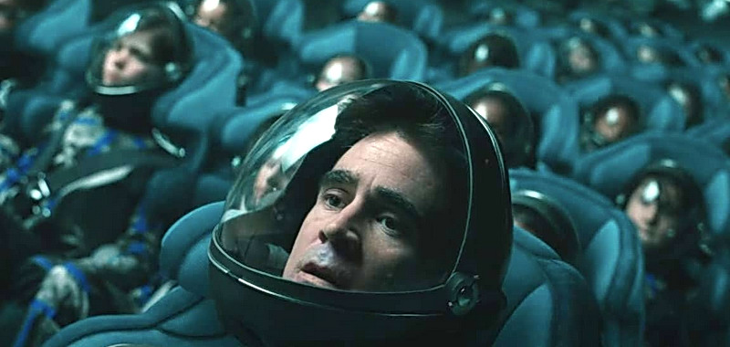 Voyagers. Colin Farell na zwiastunie thrillera science fiction. Data premiery w kinach
