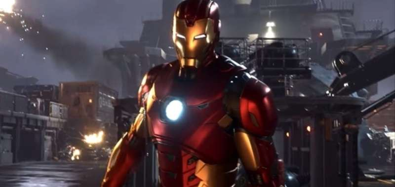 iron man marvel's avengers